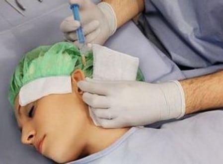 в клинике пластической хирургии