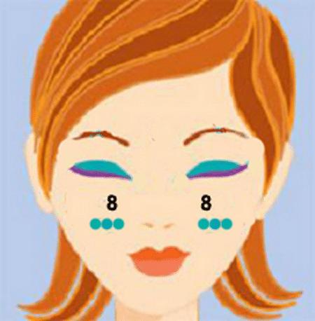 массирование лица