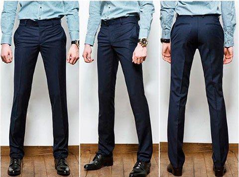 Моделирование и пошив классических мужских брюк